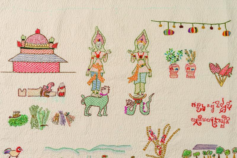 インドの刺繍・カンタと韓国のポジャギ展 / Yoko Suzuki